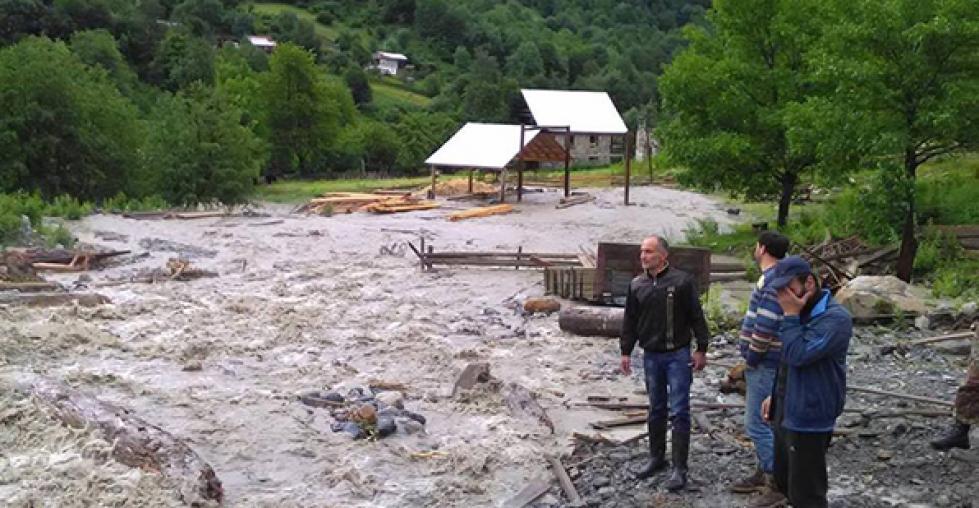 Читать: Новый селевой поток обрушился на грузинскую деревню в сезон дождей