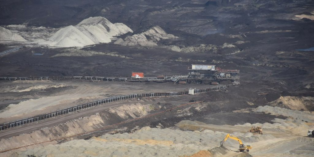 The Kostolac lignite mine.